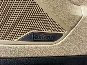 17 speaker Lexicon sound system