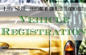 vehicle registration, car responsibilities, car ownership