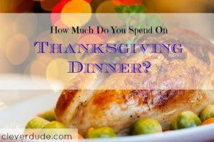 spending on Thanksgiving, Thanksgiving budget, Thanksgiving expenses