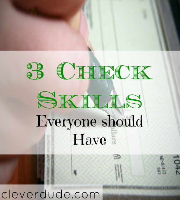 check skills tips, checking account tips, checkbook tips