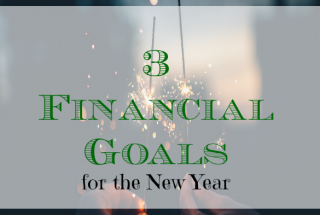 financial goals, 2018 goals, goals