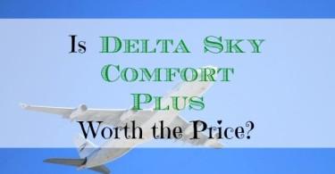 Delta Sky Comfort Plus, airline upgrade, flying upgrades