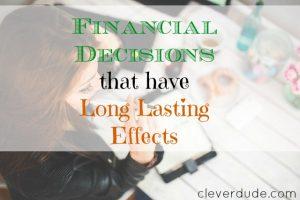 financial decisions, financial advice, financial matters