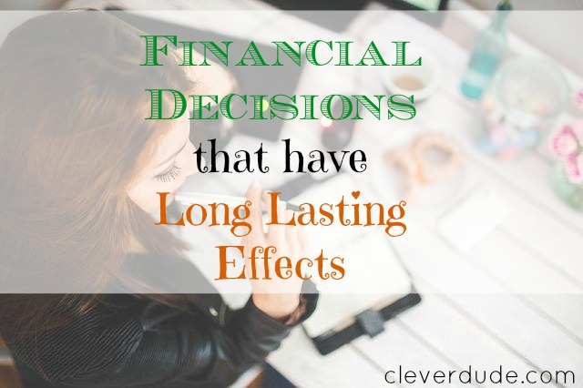 financial decisions, financial advice, financial matters