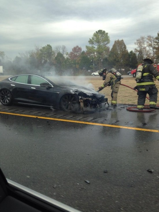 3rd Tesla Fire In 5 Weeks Occurred Wednesday, November 6th Near Nashville, TN