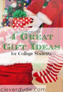 college gift ideas, gift ideas for college students, gift ideas for college kids