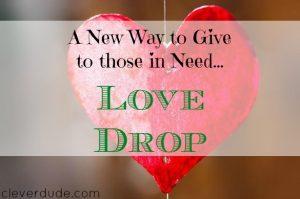 Love Drop, charity, donation