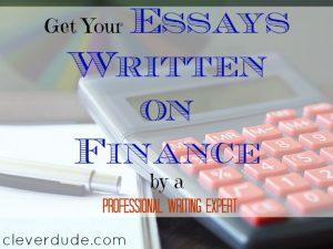 finance essay, professional writing expert, custom writing services