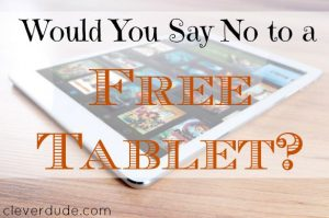 free tablet, free phone offer, data plan