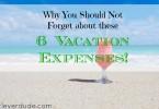 vacation expenses, vacation tips, budget vacation tips