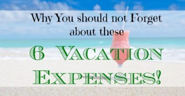 vacation expenses, vacation tips, budget vacation tips