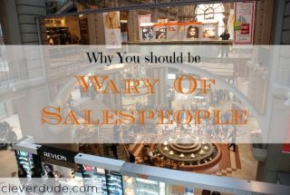 shopping at the mall tips, being way of salespeople, beware of salespeople