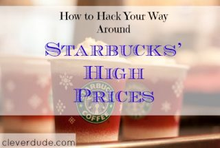 saving on starbucks, starbucks hacks, saving on starbucks