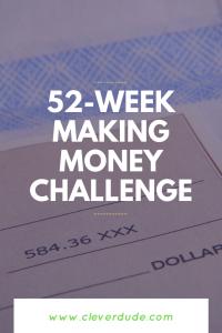 52-week making money challenge