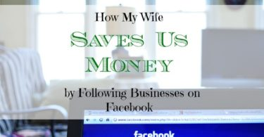 saving money on Facebook, saving money on the internet, coupons on Facebook