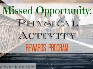 physical activity, rewards program, employer's programs