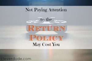 return policy terms, returns and exchanges, parenting advice
