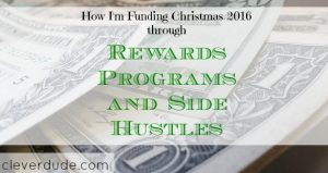 rewards program, side hustle, Christmas 2016