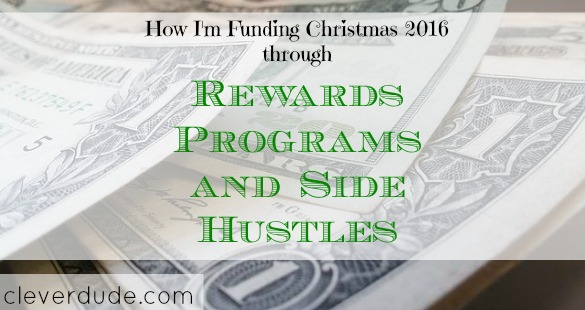 rewards program, side hustle, Christmas 2016