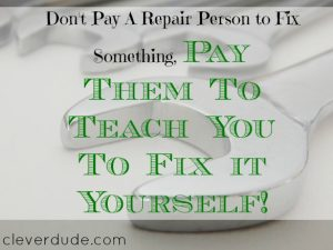 repairing skills, teaching to repair, repairing