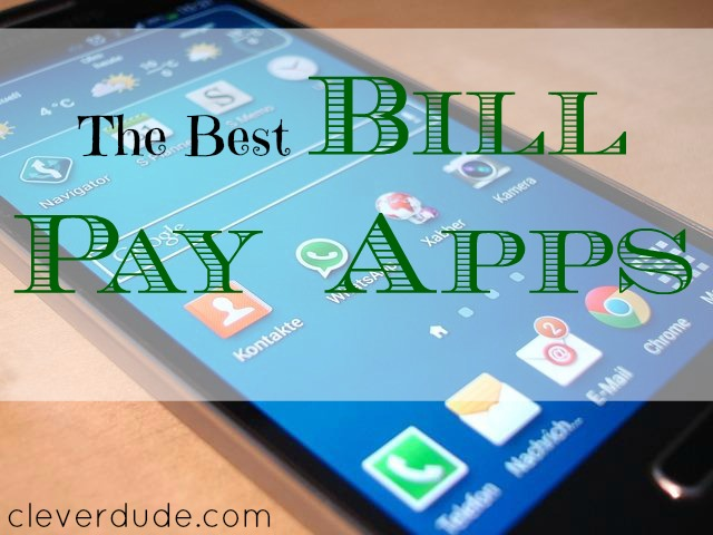 best bill pay app, smartphone, mobile device
