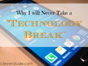 technology break, digital detox, digital break