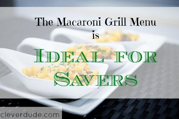 macaroni grill, saving money on food, food budgeting