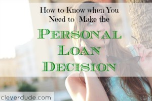 personal loan tips, personal loan advice, making a personal loan
