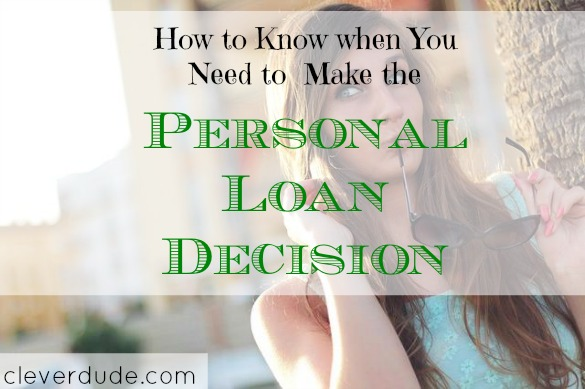personal loan tips, personal loan advice, making a personal loan