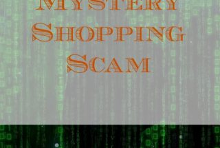 mystery shopping scam, fraud, spotting a scam