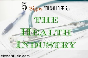 health industry, career advice, career tips