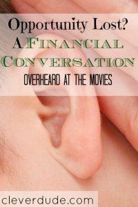 financial conversation, spending money, budgeting
