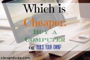 desktop, buy a computer, build a computer
