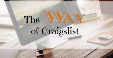 selling online, Craigslist tips, way around Craigslist