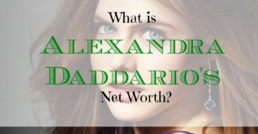 celebrity net worth, net worth, Alexandra Daddario's net worth