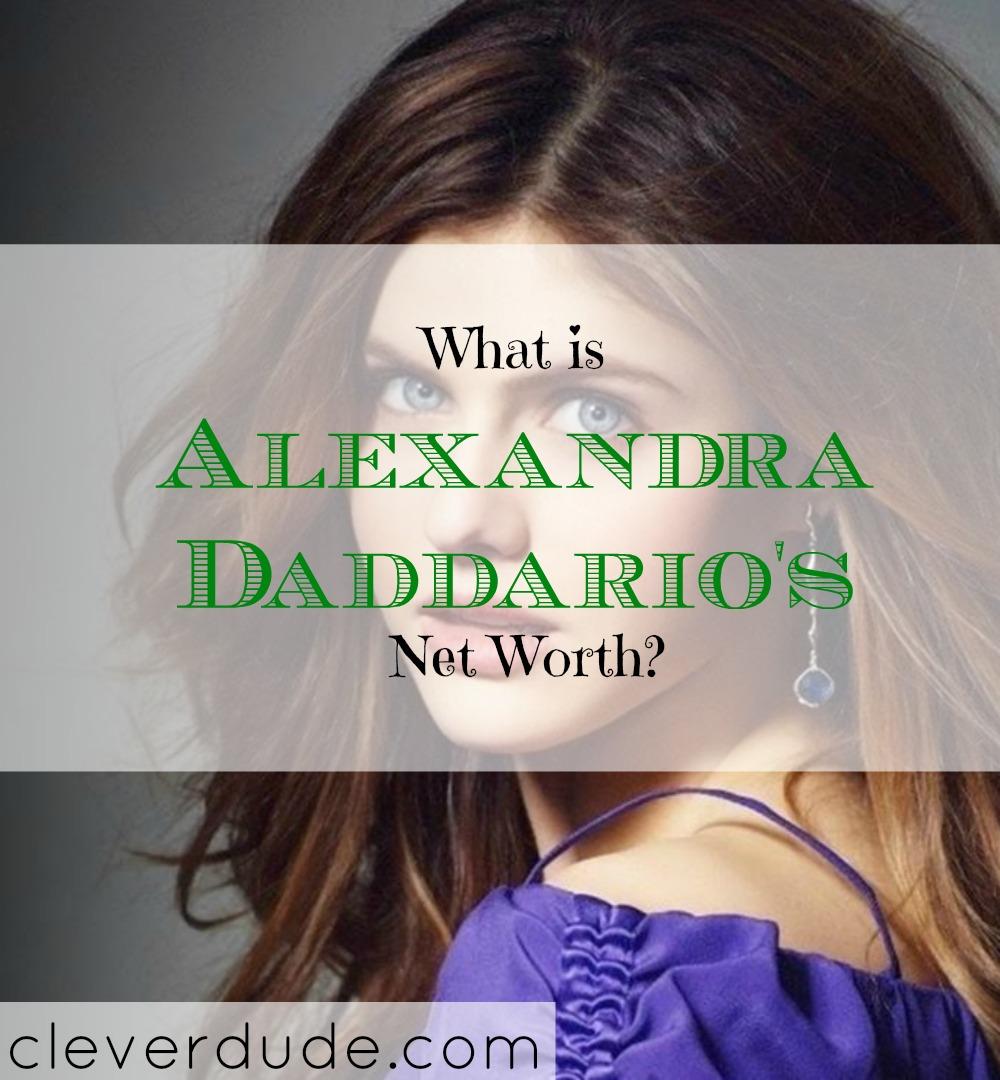 celebrity net worth, net worth, Alexandra Daddario's net worth