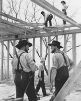 Amish Home Building