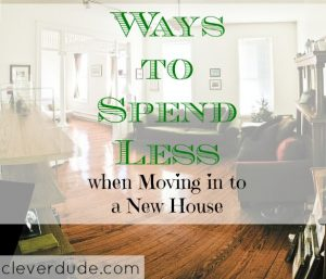 moving in, money tips, financial advice
