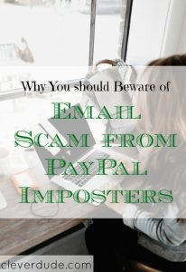 paypal fraud alert, fraudulent paypal, email scams