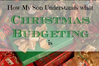 Christmas budgeting, teenagers and money, parenting tips