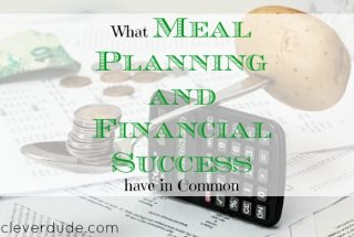 meal planning, budgeting, financial success