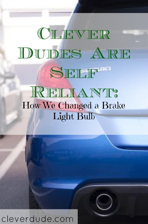 changing the brake lights, DIY, how to change a brake light