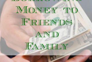 financial advice, borrowing money, money rules