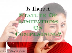 complaining, limits of complaining, complaints