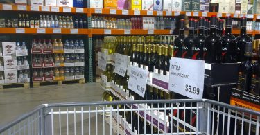 Costco liquor prices compared to others.