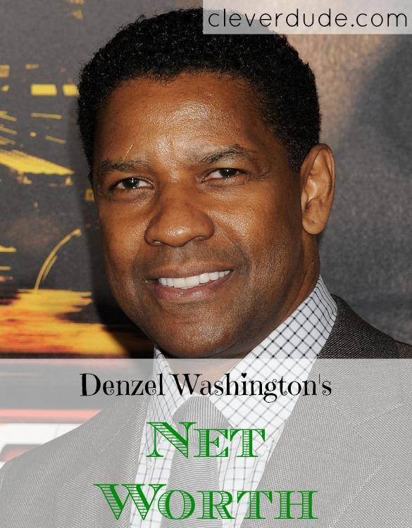 celebrity net worth, Denzel Washington, net worth series