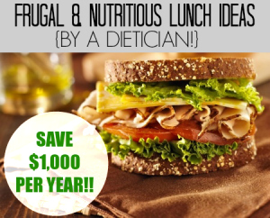 Looking to save some money on your work lunches? Check out these three delicious, nutritious, and cheap lunch ideas and save yourself hundreds of dollars per year!!