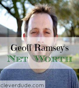 celebrity net worth, net worth series, Geoff Ramsey