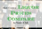 costco liquor prices, sam's club liquor prices, liquor price comparison