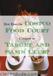 costco food vs target food, food court, grocery food court